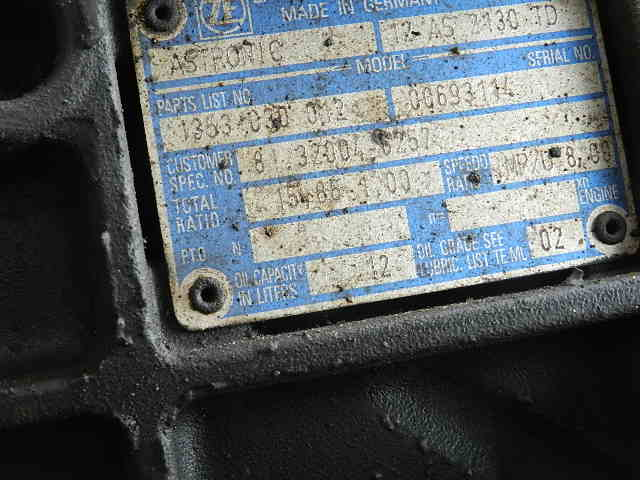 На разборе MAN TGS 26.440 Из Европы.