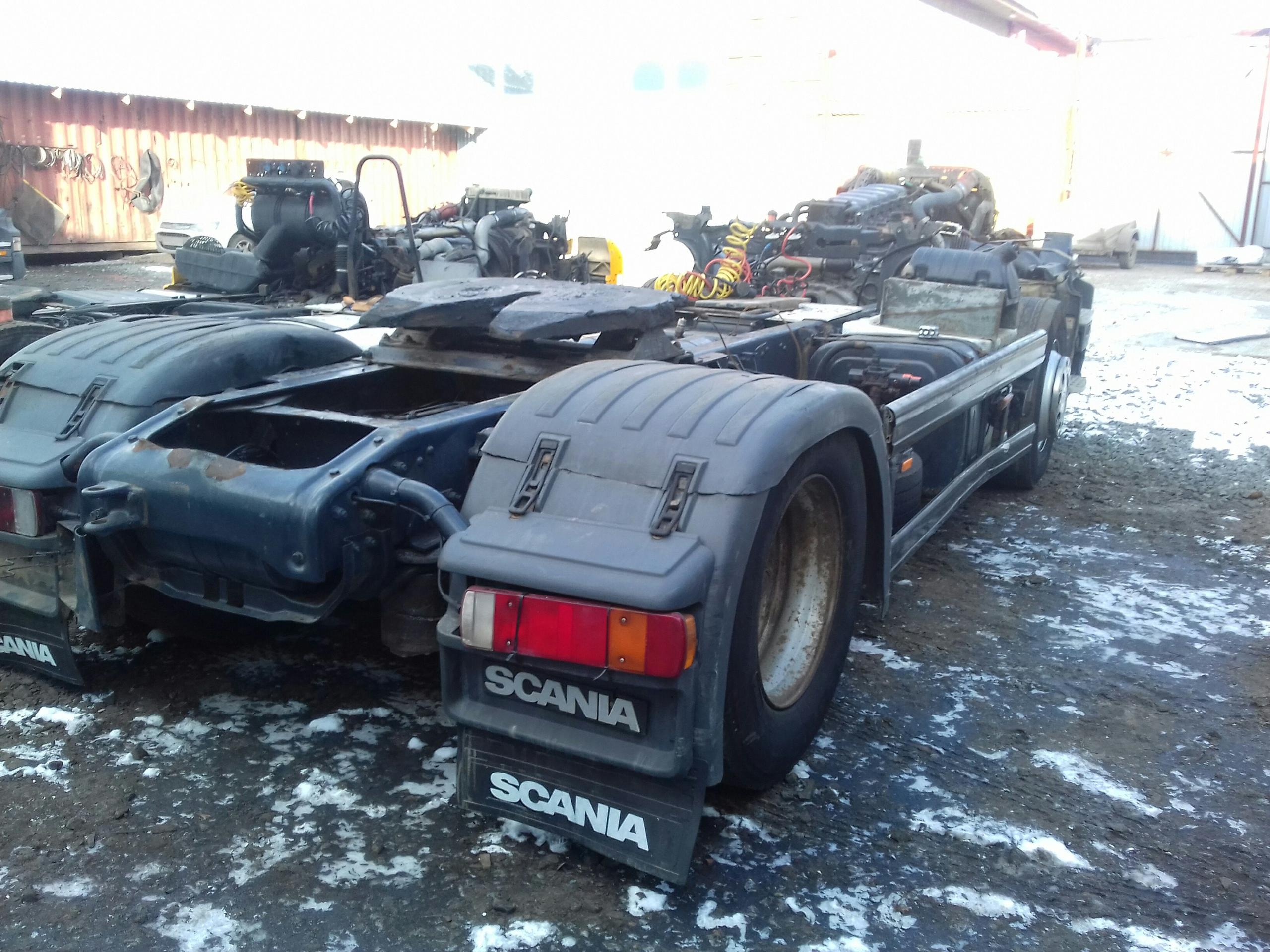 На разборе Scania R420 PDE из Европы